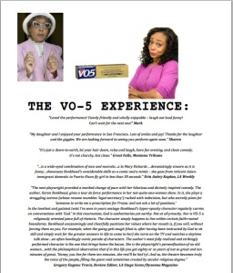 VO-5 Review Flyer